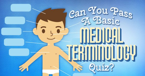 Can You Pass A Basic Medical Terminology Quiz?