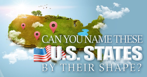 Can You Name These U.S. States By Their Shape?