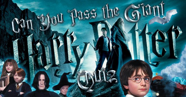 Can You Pass The Giant Harry Potter Quiz?