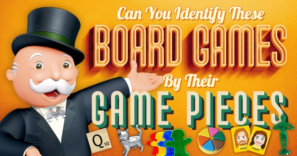 Can You Identify These Board Games By Their Game Pieces?