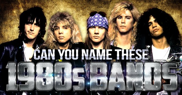 Can You Name These 1980s Bands?