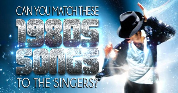 Can You Match These 1980s Songs To The Singers?