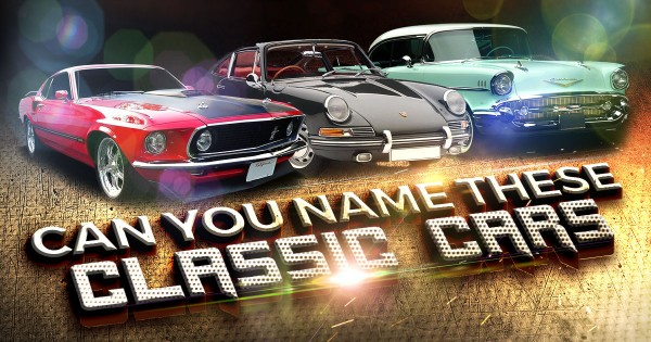 Can You Name These Classic Car Models?
