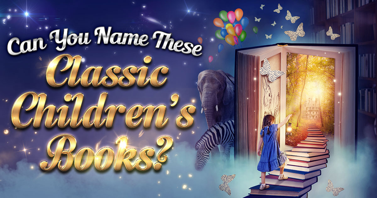 Can You Name These Classic Children's Books?