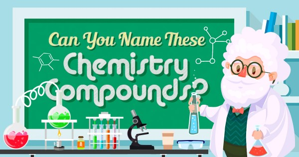 Can You Name These Chemical Compounds?