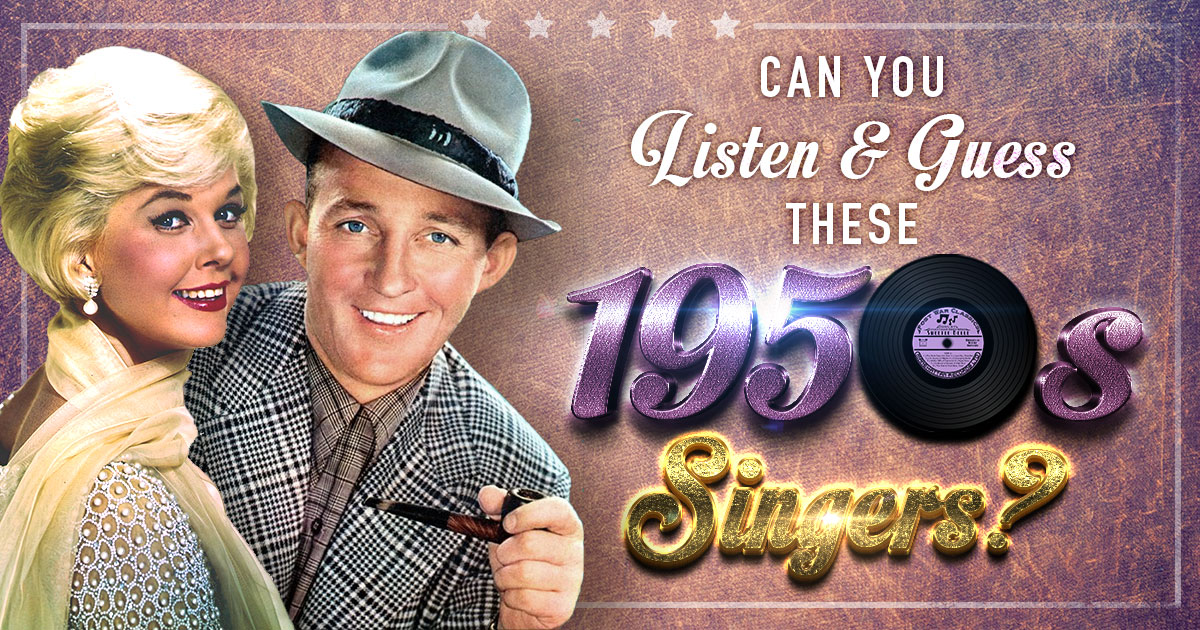 Can You Listen And Guess These 1950s Singers?
