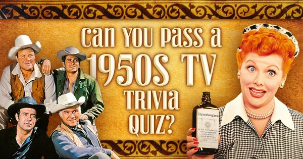 Can You Pass A 1950s TV Trivia Quiz?