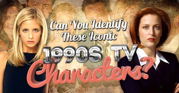 Can You Identify These Iconic 1990s TV Characters?