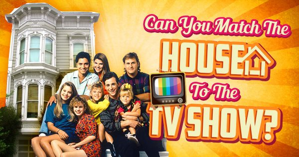 Can You Match The House To The TV Show?