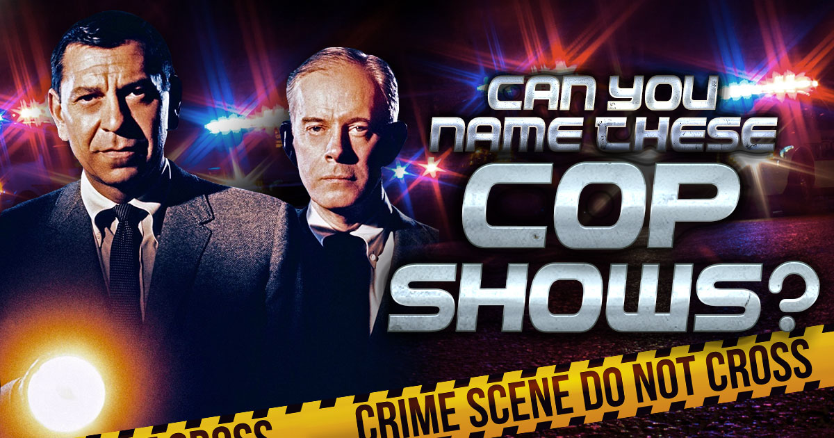 Can You Name These Cop Shows?