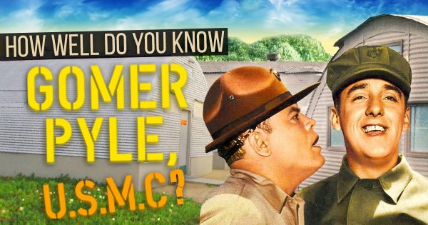 "How Well Do You Know ""Gomer Pyle U.S.M.C.""?"