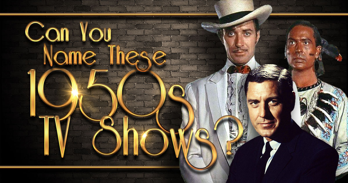 Can You Name These 1950s TV Shows? (Hard Level)