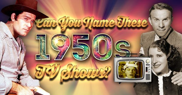 Can You Name These 1950s TV Shows? (Ultimate Level)