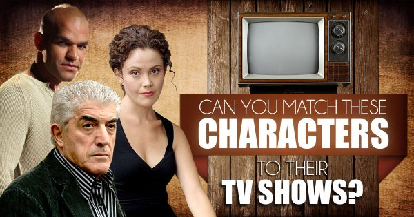 Can You Match These Characters To Their TV Shows?