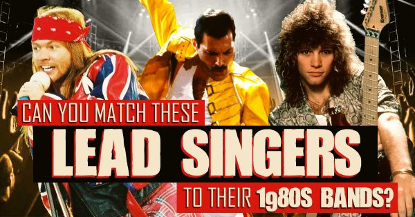 Can You Match These Lead Singers To Their 1980s Bands?