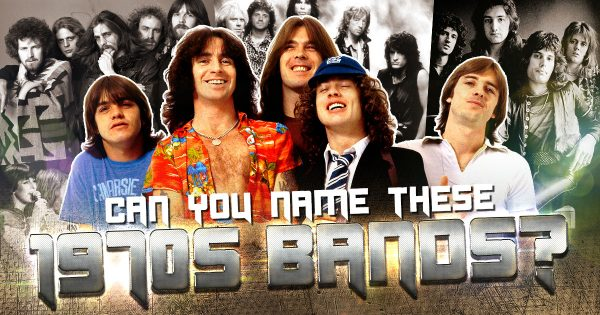 Can You Name These 1970s Bands?