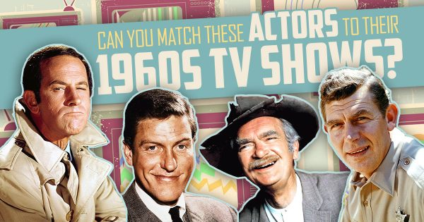 Can You Match These Actors To Their 1960s TV Shows?