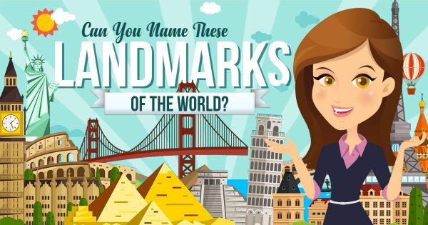 Can You Name These Landmarks Of The World? 🏰🗽🗻🗿🏯