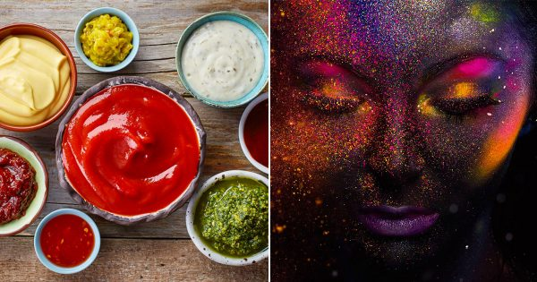 Choose Some Condiments And We'll Tell You The Color Of Your Aura